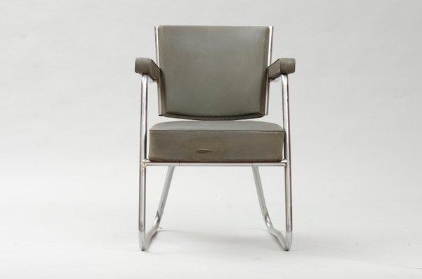 Sedia da scrivania vintage modernista in vendita su pamono