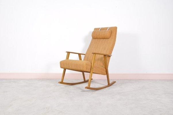 Mid Century Modern Swedish Rocking Chair By Johanson, 1960s 1