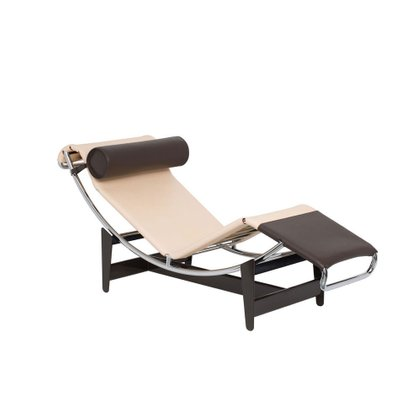 LC4 CP Limited Edition Chaise Lounge By Le Corbusier Jeanneret And Perriand For Cassina
