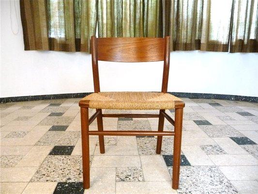 Danish 157 Teak Chair By Børge Mogensen For Søborg Møbler 1950s 1