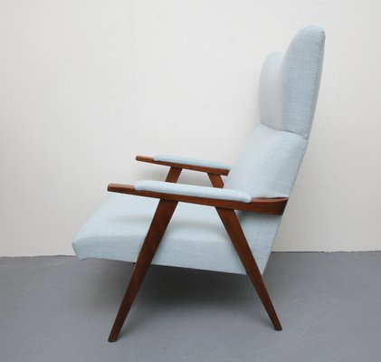 Vintage Highback Lounge Chair, 1950s 2