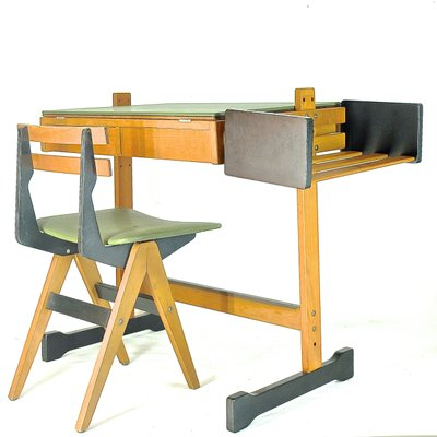 Childrenu0027s Desk U0026 Chair From Fratelli Reguitti, ...