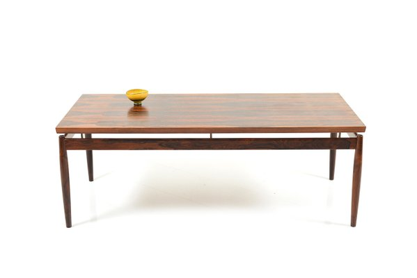 Excellent Mid Century Rectangular Rosewood Coffee Table By Grete Jalk For France Son Machost Co Dining Chair Design Ideas Machostcouk