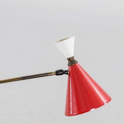 Mid century italian handmade floor lamp for sale at pamono mid century italian handmade floor lamp 2 aloadofball Image collections