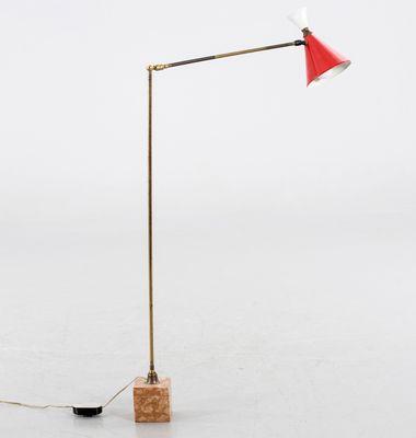 Mid century italian handmade floor lamp for sale at pamono mid century italian handmade floor lamp 1 aloadofball Image collections