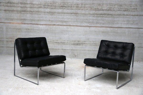 La Credenza Meaning : Vintage lounge chairs by kho liang le for artifort 1960s set of 2