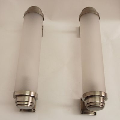 French Modernist Art Deco Wall Lights 1930s Set Of 2 1