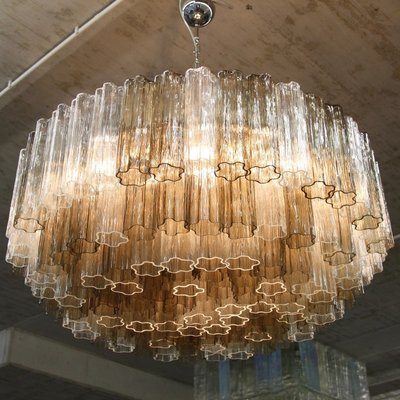 Vintage Murano Glass Chandelier 1 - Vintage Murano Glass Chandelier For Sale At Pamono