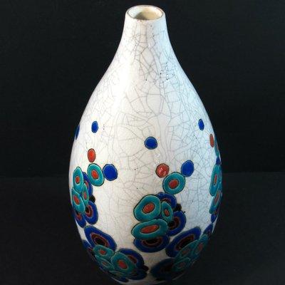 Art Deco Vase By Charles Catteau For Boch Frres 1930s For Sale At