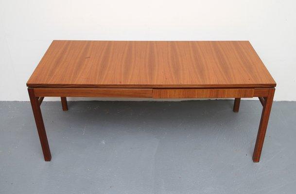 Table En De Extensions1960s Avec Basse Noyer Placage RL345Aj
