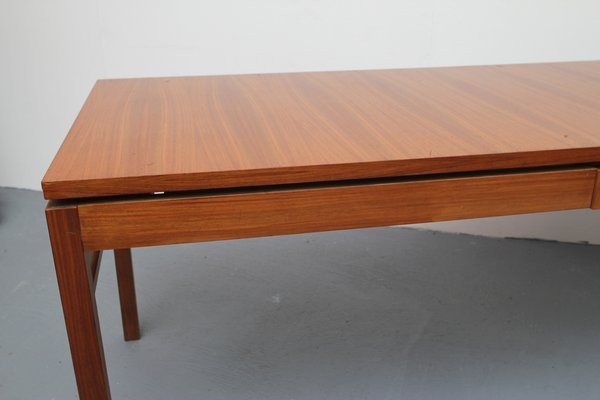 Placage De Table Noyer Avec Extensions1960s En Basse WYH2ID9E
