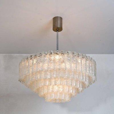 Lampadari Da Sala.Lampadari Grandi Da Sala Da Ballo Di Doria Leuchten Anni 60 Set Di 2