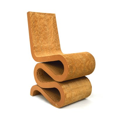 Vintage Wiggle Chair By Frank Gehry For Vitra 1