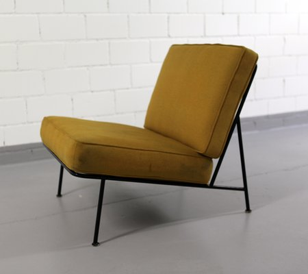 Mid Century Modern Easy Chair With Fabric 2