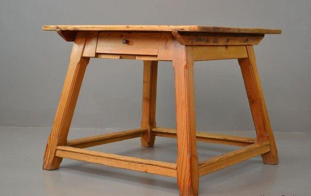 Vintage Arts U0026 Crafts Pine Dining Table 11