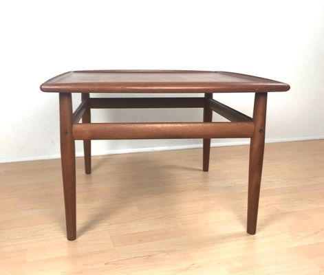 Vintage Teak Coffee Table By Grete Jalk For Glostrup Møbelfabrik 1