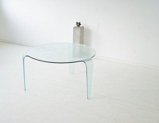 Table En Verre Vintage De Roche Bobois En Vente Sur Pamono