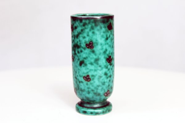 Vintage Green Vase From Gustavsberg For Sale At Pamono