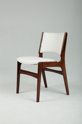 Attirant Solid Rosewood Chairs By Erik Buch, 1960s, Set Of 4 1