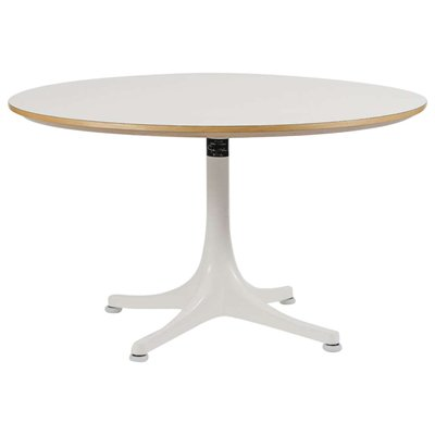 Vintage Pedestal Coffee Table By George Nelson For Vitra 1