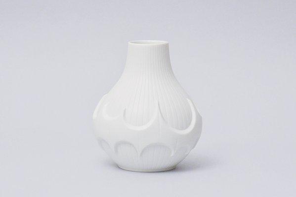 Batman White Bisque Vase By Werner Uhl For Scherzer 1970s For Sale