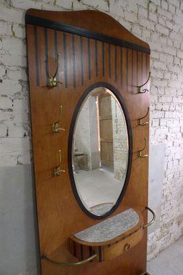 Vintage Garderobe Mit Spiegel Bei Pamono Kaufen