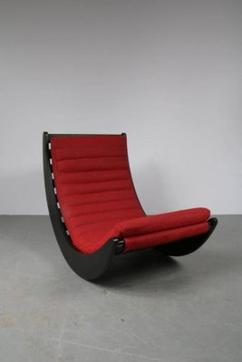 rocking chair by verner panton for rosenthal 1974 for sale at pamono