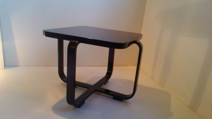 Exceptionnel Art Deco Rectangular Bentwood Coffee Table By Jindřich Halabala 1