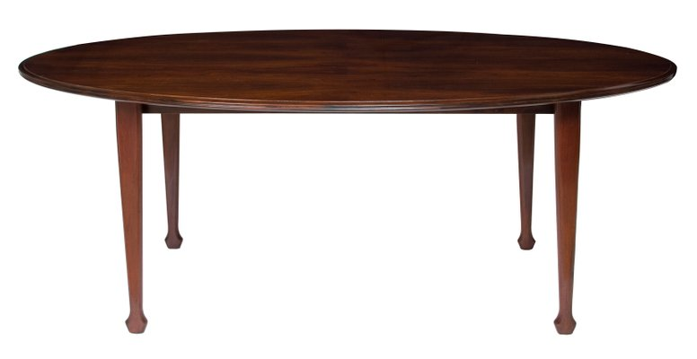 Oval Rosewood Dining Table By Andrew J Milne 1960s