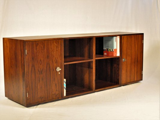 Rosewood Diplomat Storage Cabinets And Book Cases By Finn Juhl For France Søn 1960s