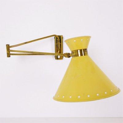 Lampe Diabolo Par Rene Mathieu Pour Lunel 1950s En Vente Sur Pamono