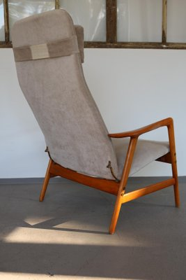 Kontur Highback Lounge Chair By Alf Svensson For Ljungs Industrier, 1950s 2