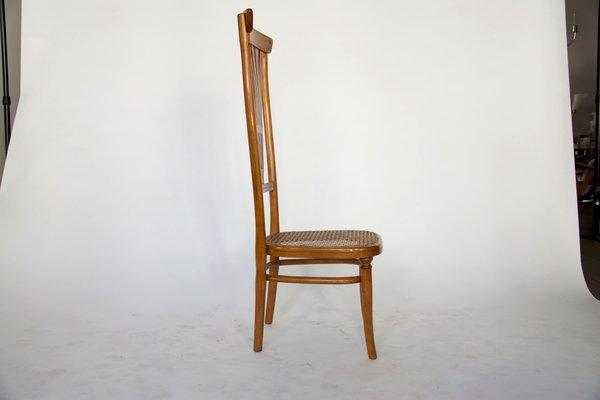 Sedie Schienale Alto Design.Sedia Con Schienale Alto Di Thonet 1916