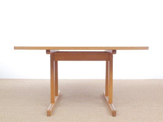 Exceptionnel Table De Salle à Manger Shaker 6287 Par Børge Mogensen Pour Fredericia,  Scandinavie, 1966