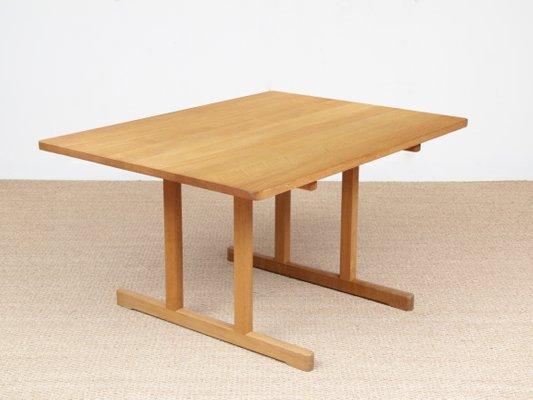 Ordinaire Table De Salle à Manger Shaker 6287 Par Børge Mogensen Pour Fredericia,  Scandinavie, 1966