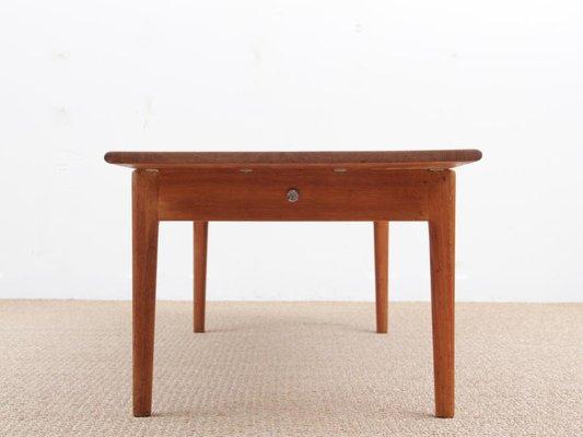 Scandinavian Model AT-15 Oak Coffee Table by Hans Wegner for Andreas ...