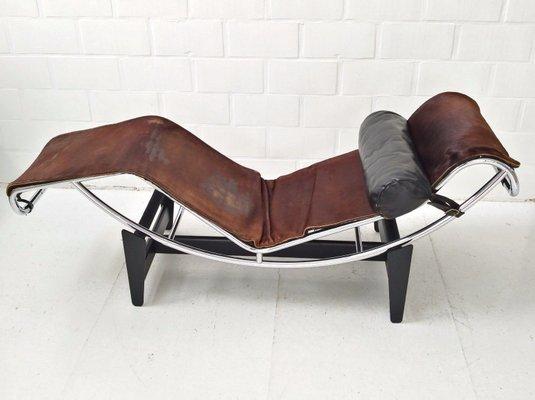 Fruhe 550er Nummer LC4 Chaiselongue Von Le Corbusier Charlotte Perriand Pierre Jeanneret