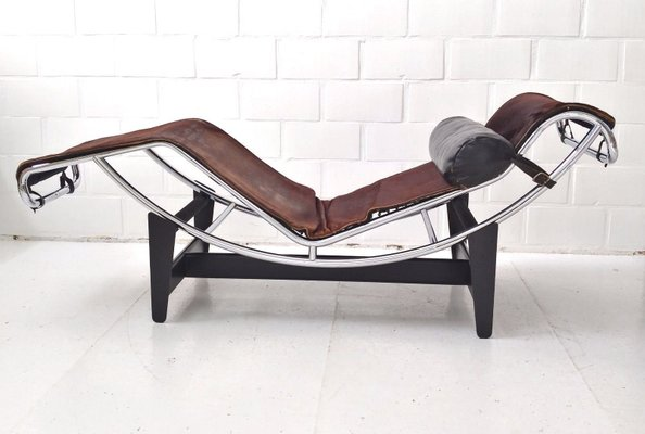 CorbusierCharlotte Jeanneret Cassina1960s Chaise Earlyfirst Par Pierre 550Lc4 Perriandamp; Pour Longue Le DHY9IWE2