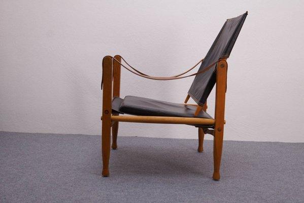 Gentil Vintage Safari Chair By Kaare Klint For Rud. Rasmussen 2