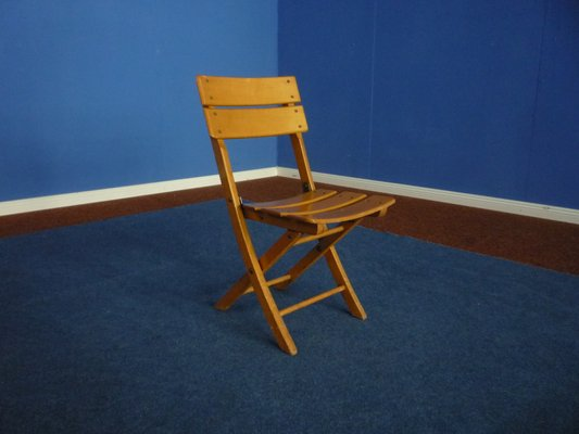 Childrens Folding Chair from Herlag 1940s 2 & Childrens Folding Chair from Herlag 1940s for sale at Pamono
