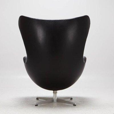 Egg Chair Von Arne Jacobsen Für Fritz Hansen 1965 Bei Pamono Kaufen