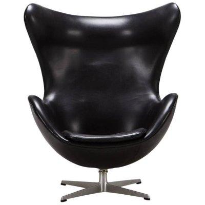 Egg Chair Von Arne Jacobsen Für Fritz Hansen, 1965 1