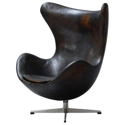Poltrona Egg Jacobsen.Egg Chair By Arne Jacobsen For Fritz Hansen 1960s