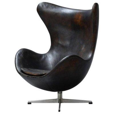Poltrona Uovo Jacobsen.Poltrona Egg Di Arne Jacobsen Per Fritz Hansen Anni 60