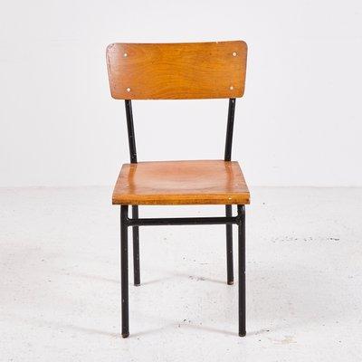 Sedie vintage minimaliste industriali in vendita su Pamono