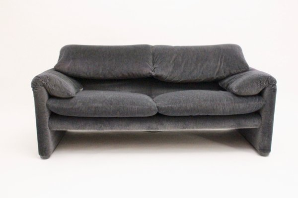 2-Seater Sofa Maralunga by Vico Magistretti for Cassina, Set of 2