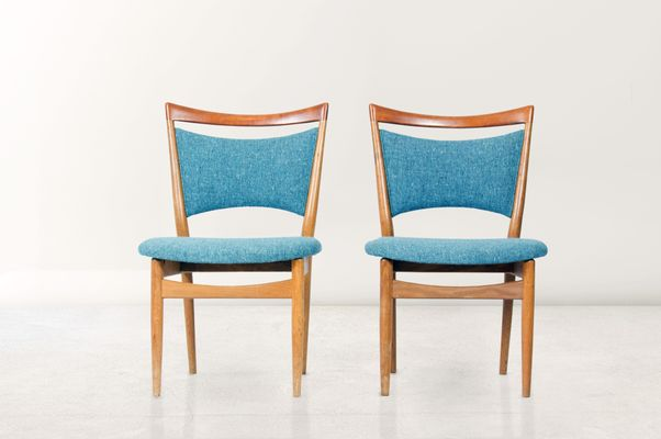sw87 chairs by finn juhl for søren wiladsen 1952 set of 2 for sale