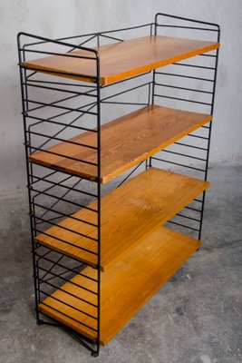 Mid-Century Bookshelf by Nisse Strinning for String for sale at Pamono