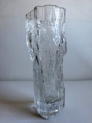 Ice Glass Vase By Tapio Wirkkala For Iittala 1970s For Sale At Pamono