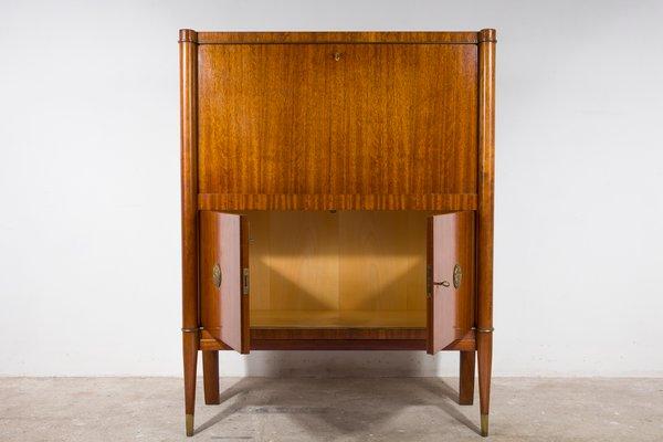 Beau Art Deco Bar Cabinet From De Coene, 1940s 2